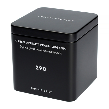 Teministeriet - 290 Green Apricot Peach Organic - Herbata Sypana 100g