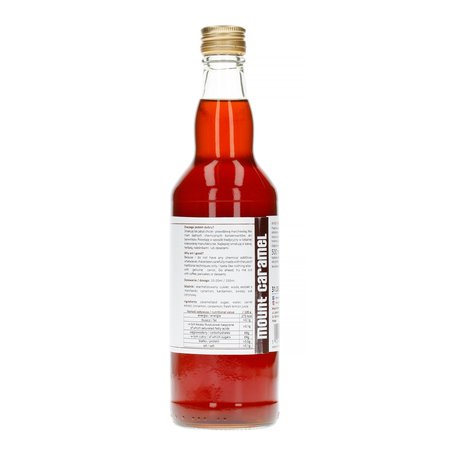 Mount Caramel Dobry Syrop - Ciasto Marchewkowe 500 ml