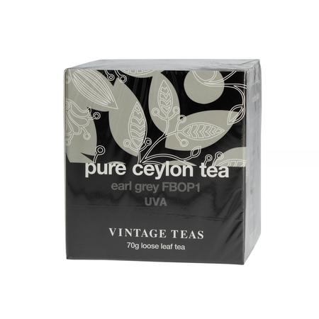 Vintage Teas Pure Ceylon Tea - Black Tea Earl Grey FBOP1 70g