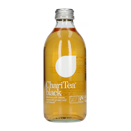 ChariTea - Black - Napój z czarnej herbaty 330ml