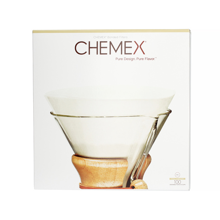 Chemex - Filtry papierowe okrągłe, niezłożone 6, 8, 10 filiżanek