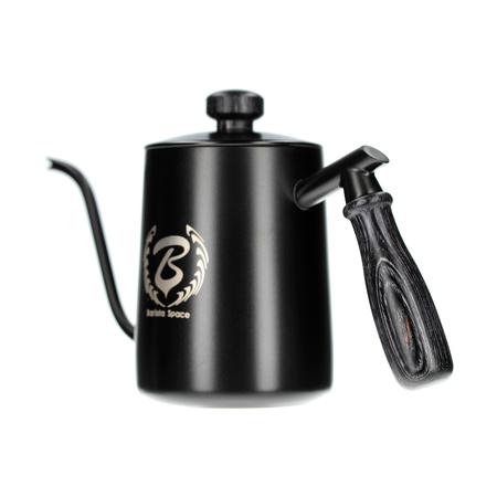 Barista Space spout kettle 600ml black (outlet)