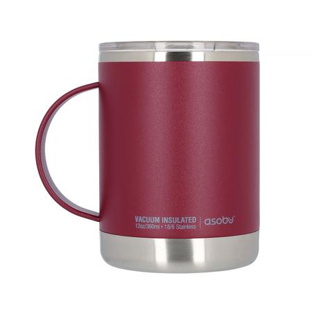 Asobu Ultimate Coffee Mug 360ml Burgundy (outlet)