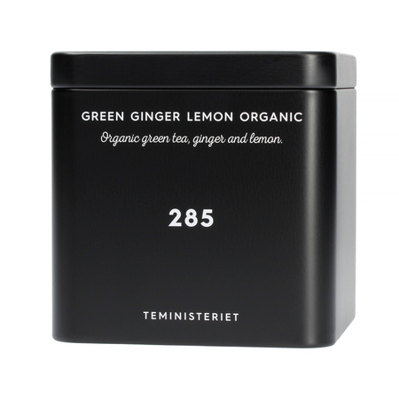 Teministeriet - 285 Green Ginger Lemon Organic - Herbata Sypana 100g