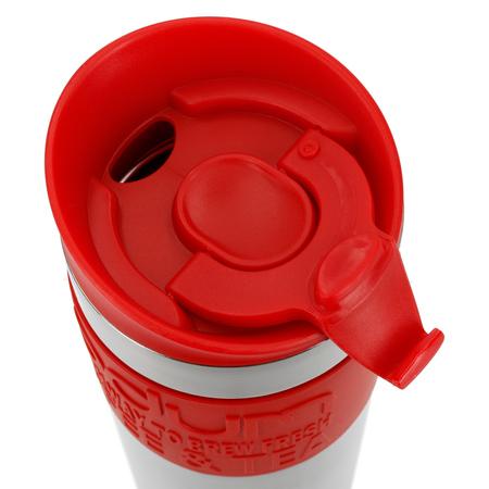 Bodum Travel Mug - Kubek termiczny 350 ml - Czerwony