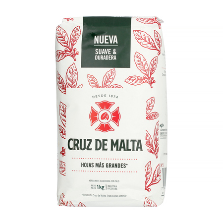 Cruz de Malta - yerba mate 1kg