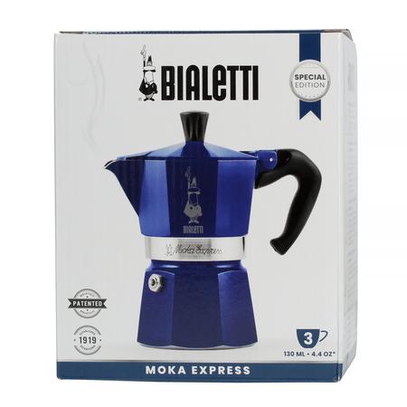 Bialetti Moka Express Marocco 3tz Niebieska