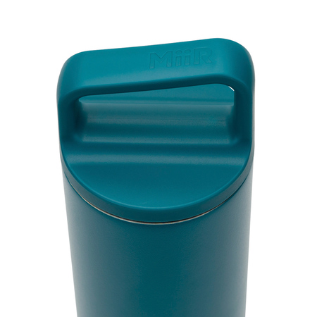 MiiR - Wide Mouth Bottle Turkusowa - Butelka termiczna 590 ml