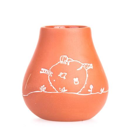 Pizca del Mundo - Matero Macapa - gliniane naczynie do yerba mate