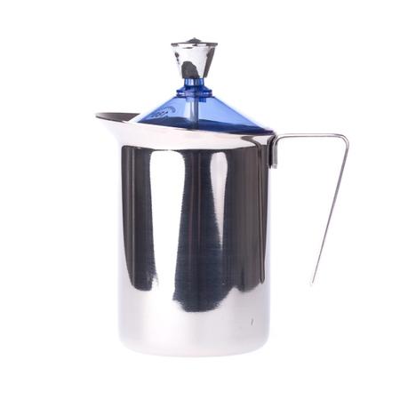 G.A.T. Fantasia Cappuccino - Ręczny spieniacz do mleka 600ml - Niebieski
