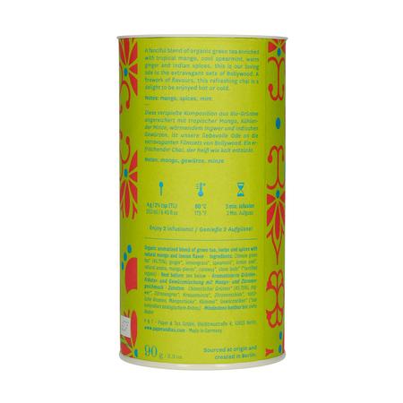 Paper & Tea - Bollywood N724 - Herbata sypana - Puszka 90g