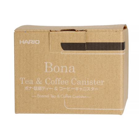 Hario Bona Canister - Drewno tekowe - Pojemnik 400ml