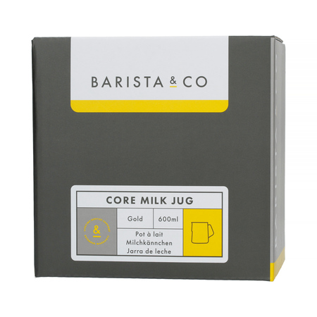 Barista & Co - Core Milk Jug Gold - Dzbanek do mleka 600 ml