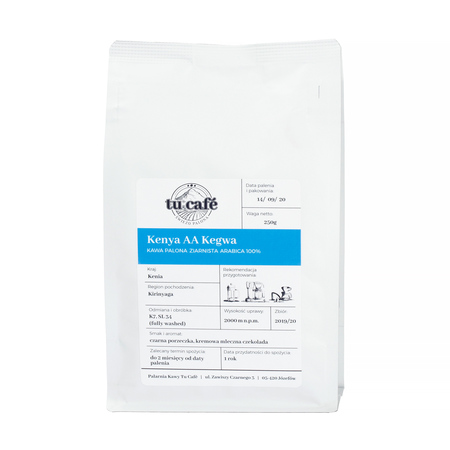 Tu Cafe - Kenia Kegwa AA