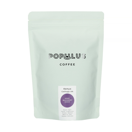 Populus Coffee - Kenya Gathugu AA Omniroast