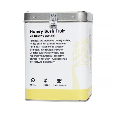 Long Man Tea - Honey Bush Fruit - Herbata sypana - Puszka 120g