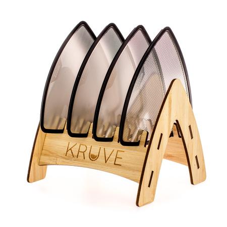 Kruve Sifter Twelve - Silver - Odsiewacz do kawy z dwunastoma sitkami