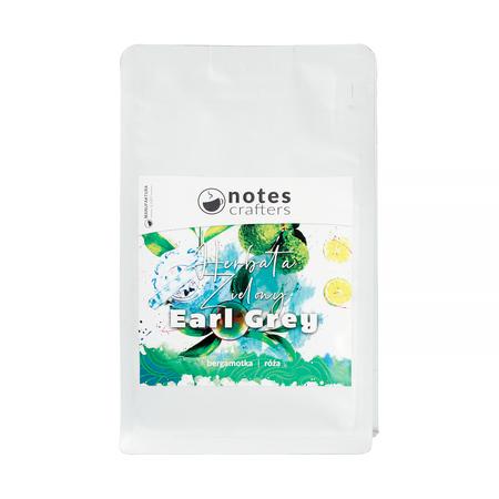 Notes Crafters - Zielony Earl Grey - Herbata sypana 100g