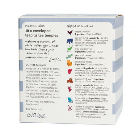 Teapigs Selection Box - Zestaw herbat