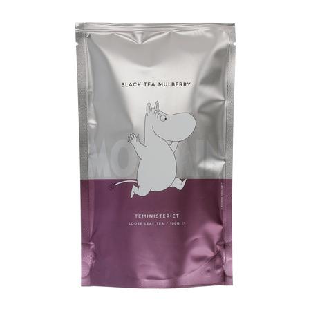 Teministeriet - Moomin Black Tea Mulberry - Herbata sypana 100g - Opakowanie uzupełniające
