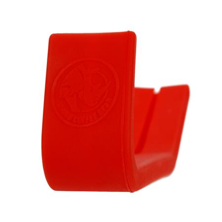 Rhino Coffee Gear - Silikonowa osłonka na rączkę dzbanka 600ml - Czerwona