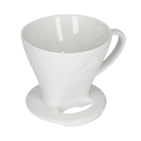 Melitta porcelanowy dripper do kawy 102 - Biały