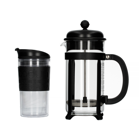 Bodum Java Set - French Press + Kubek podróżny
