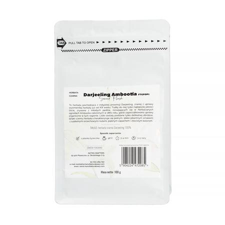Notes Crafters - Darjeeling Second Flush FTGFOP1 Ambootia Czarna - Herbata sypana 100g