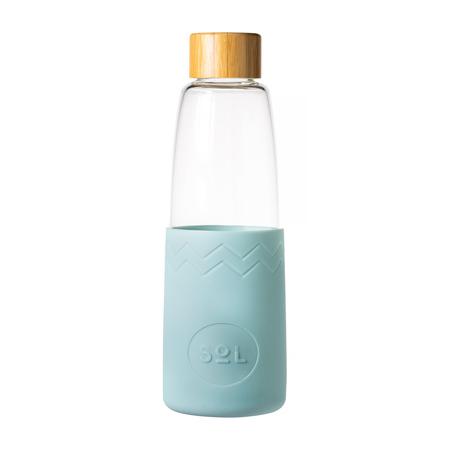 Sol - Cyjanowa butelka + Wycior + Etui