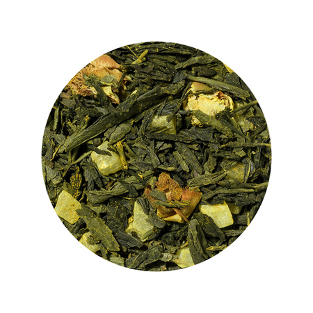 Solberg & Hansen - Herbata sypana - Pineapple and Turmeric Green Tea