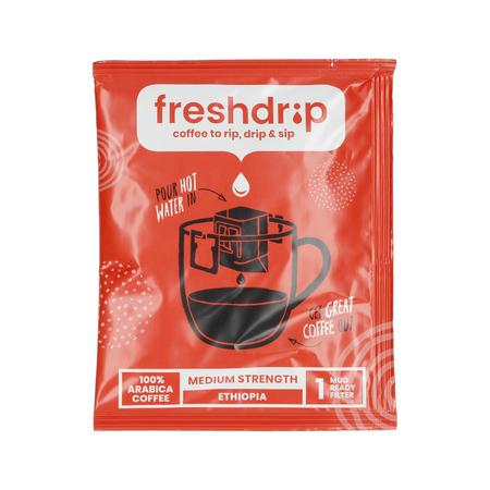 Freshdrip - Red Ethiopia Medium-Strength - 7 saszetek