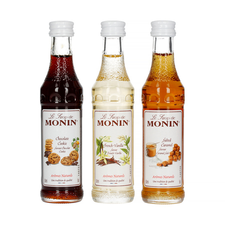 Monin - Zestaw kawowy 3 x 50ml