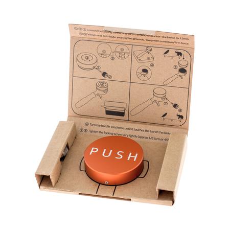 Clockwork Espresso - PUSH Tamper - Pomarańczowy
