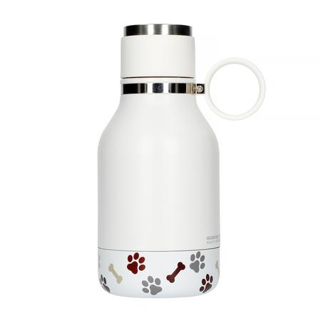 Asobu Dog Bowl Bottle Stainless 1,1L White (outlet)