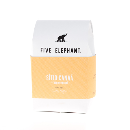 Five Elephant - Brazil Sitio Canaa Yellow Catuai Filter