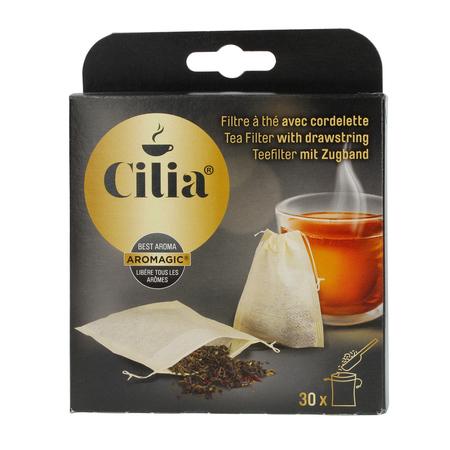 Cilia - Saszetki do herbaty ze sznurkiem - Małe 30 sztuk