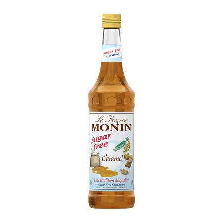 Monin Caramel Sugar Free - Syrop Bezcukrowy Karmelowy 0,7L