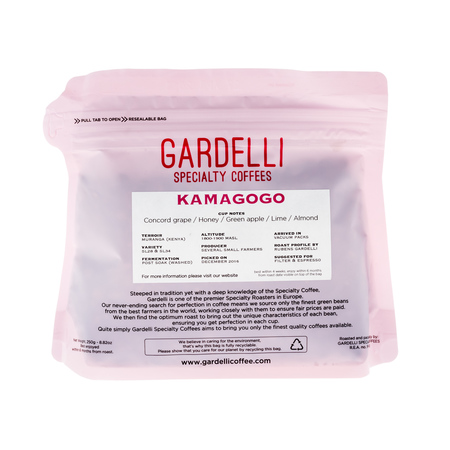 Gardelli Specialty Coffees - Kenya Kamagogo