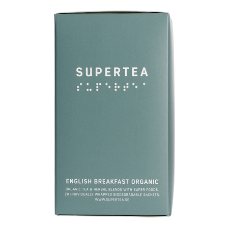 Teministeriet - Supertea English Breakfast Organic - Herbata 20 Torebek
