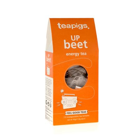 teapigs Up Beet - Energy Tea 15 piramidek
