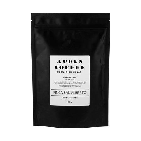Audun Coffee - Kolumbia Finca San Alberto Geisha 125g