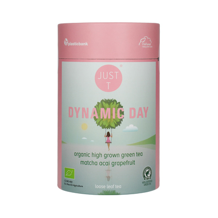 Just T - Dynamic Day - Herbata sypana 125g