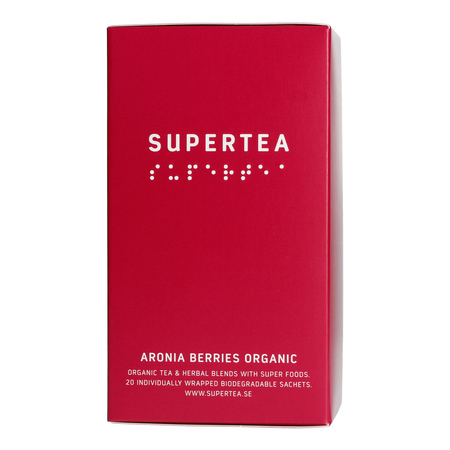 Supertea Aronia Berries Organic (20 saszetek) (outlet)