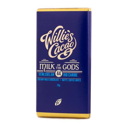 Willie's Cacao - Czekolada 44% - Milk of the Gods 26g (outlet)