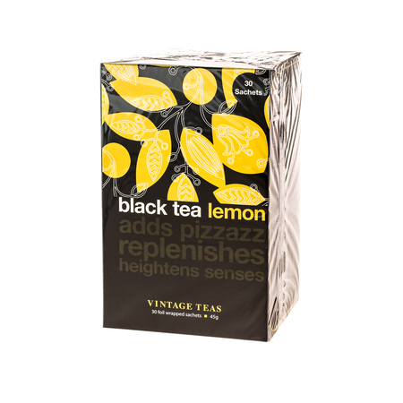 Vintage Teas Black Tea Lemon - 30 torebek