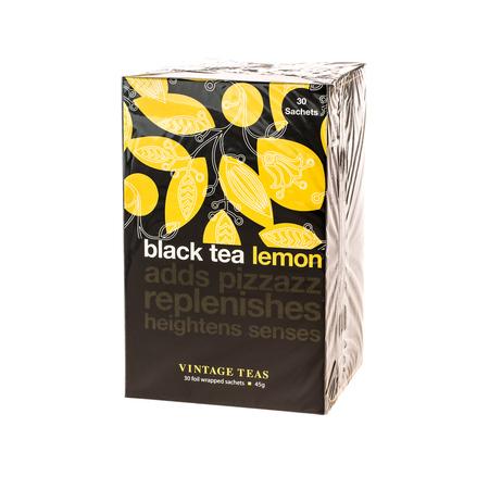 Vintage Teas Black Tea Lemon - 30 torebek