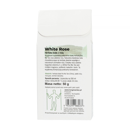 Long Man Tea - White Rose - Herbata sypana - 80g