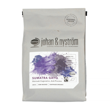 Johan & Nyström - Sumatra Gayo Mountain Fairtrade