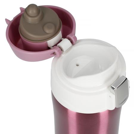 Asobu - Diva Cup Różowy / Biały - Kubek termiczny 450ml