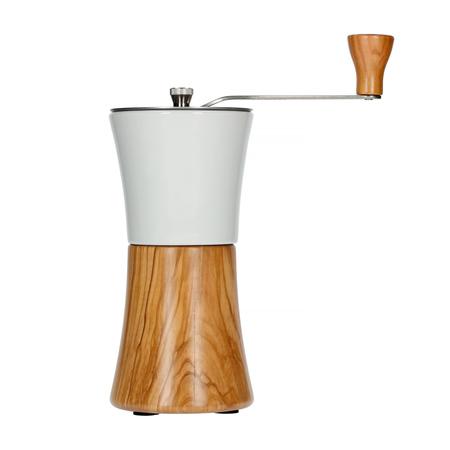 Hario - Ceramic Coffee Mill Wood N - Młynek do kawy